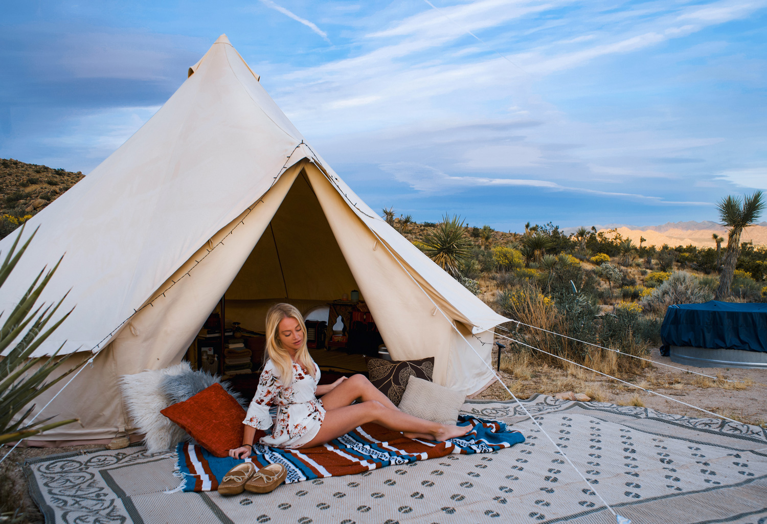 Bucket List Glamping In Joshua Tree This Adventure Life Our kids really loved it too, and enjoyed. bucket list glamping in joshua tree